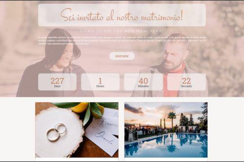 Sito per wedding