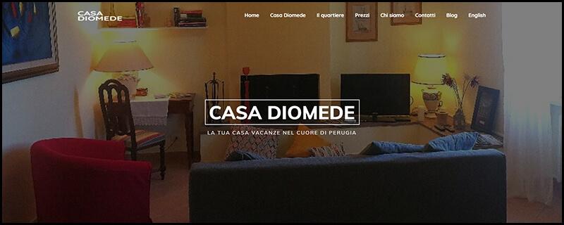Sito web Casa Diomede